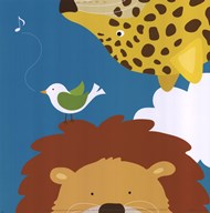 Safari Group: Leopard and Lion Art