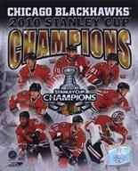 2009-10 Chicago Blackhawks Stanley Cup Champions Composite  Fine Art Print