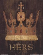 Her Majesty's Crown  Fine Art Print