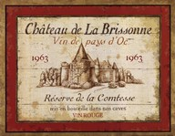 French Wine Labels I Art