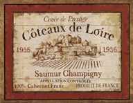 French Wine Labels II Art