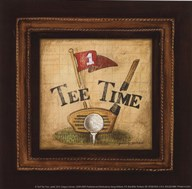 Golf Tee Time - petite  Fine Art Print