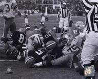 Bart Starr 1967 Ice Bowl Touchdown  Fine Art Print