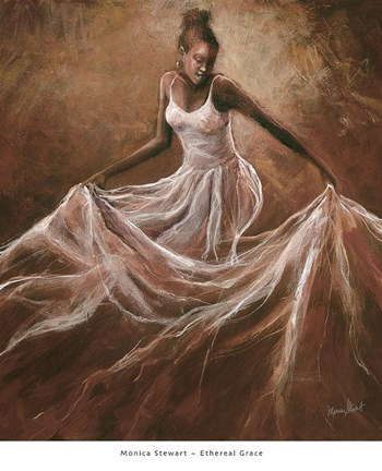Ethereal Grace Fine Art Print By Monica Stewart At
