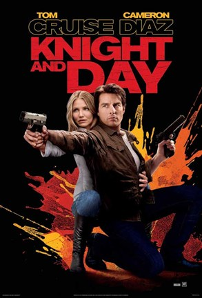 Framed Knight and Day - Style D Print