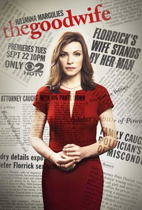 Framed Good Wife (TV) Print