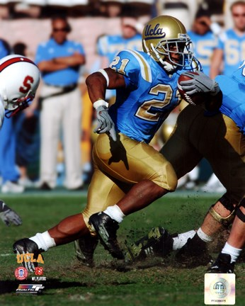Framed Maurice Jones-Drew UCLA Bruins 2004 Action Print