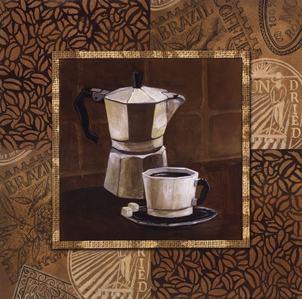 Framed Coffee IV Print