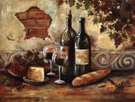 Bountiful Wine II Art