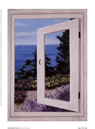 Framed Bay Window Vista II Print