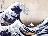 The Wave off Kanagawa Art