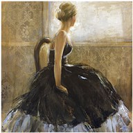 Girl in Dress Art