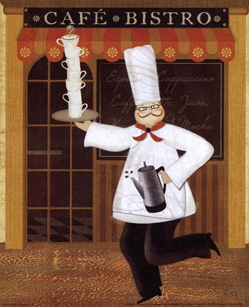Framed Chef's Specialties III Print