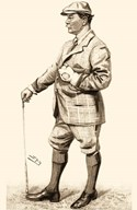 Vanity Fair Golfers III Art