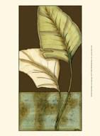 Small Palm Leaf Arabesque I (P)  Fine Art Print