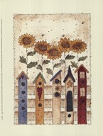 Birdhouse Row  Fine Art Print