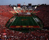 Los Angeles Memorial Coliseum USC Trojans 2006  Fine Art Print