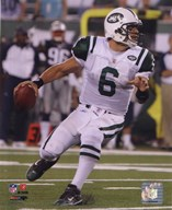 Mark Sanchez 2010 with the ball  Fine Art Print