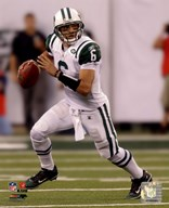 Mark Sanchez 2010 football  Fine Art Print