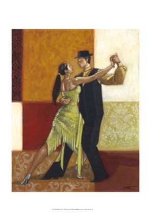 Framed Dance II Print