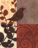 Damask Sparrow Art