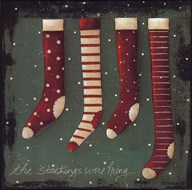 The Stockings Art