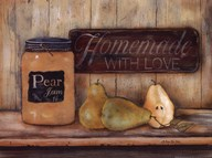 Pear Jam  Fine Art Print