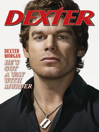 Framed Dexter Out He's Got a Way with Murder Print