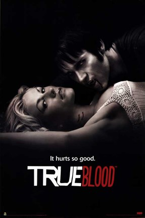 Framed True Blood It Hurts So Good Print