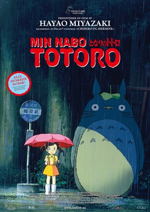 Framed My Neighbor Totoro Print
