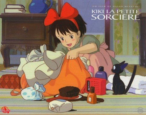 Framed Kiki's Delivery Service (French Title) Movie Print