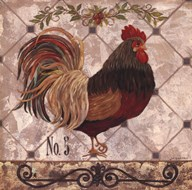 Rooster #5  Fine Art Print