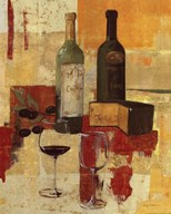 Contemporary Wine Tasting III  Fine Art Print