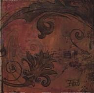 Moroccan Square VI  Fine Art Print