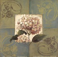 Hydrangeas on Green I Art