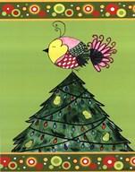Paritridge in a Tree  Fine Art Print