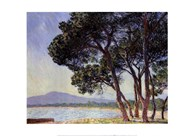 The Beach in Juan-les-Pins  Fine Art Print