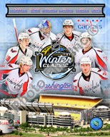 Washington Capitals 2010 Winter Classic Portrait Plus Art