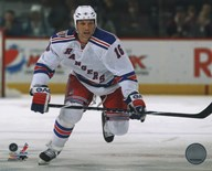Sean Avery 2010-11 Action Art