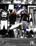Adrian Peterson 2009 In the Spotlight Action Running
