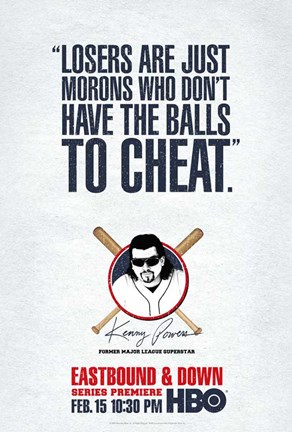 Framed Eastbound & Down (TV) Cheat Print