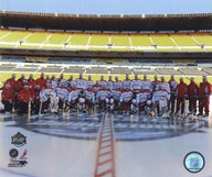 The Washington Capitals Team Photo 2011 NHL Winter Classic Art