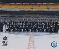 The Pittsburgh Penguins Team Photo 2011 NHL Winter Classic Art