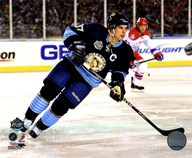 Sidney Crosby 2011 NHL Winter Classic Action Art