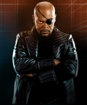 Iron Man 2 Nick Fury Wall Poster By Unknown At