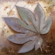 Turquoise Leaf I  Fine Art Print