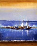 Blue Ocean I Art