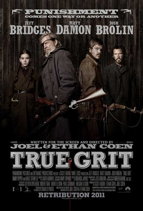 Framed True Grit Punishment Print