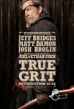 Framed True Grit Josh Brolin Print