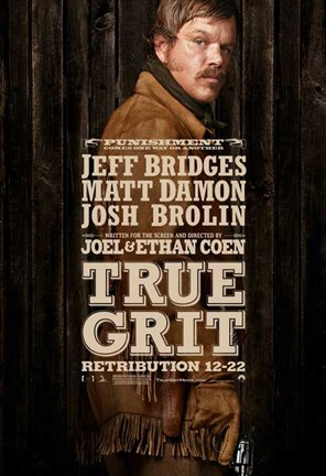 Framed True Grit Matt Damon Print